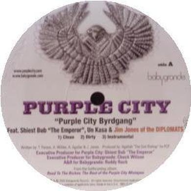 PURPLE CITY BYRDGANG / IT AIN'T EASY Vinyl Record