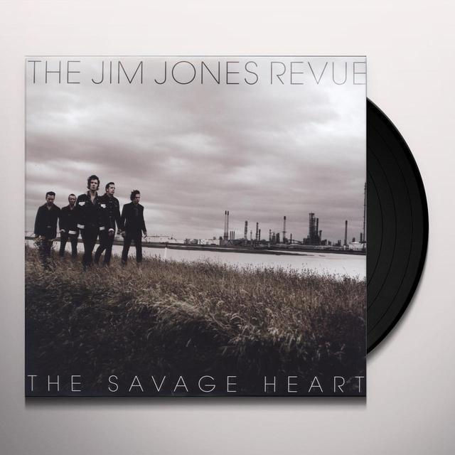 Jim Revue Jones SAVAGE HEART Vinyl Record