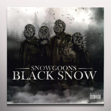 Snowgoons BLACK SNOW Vinyl Record - Colored Vinyl