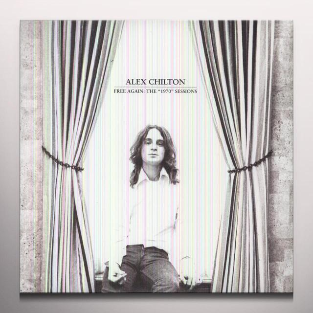 Alex Chilton FREE AGAIN: THE 1970 SESSIONS Vinyl Record - Colored Vinyl