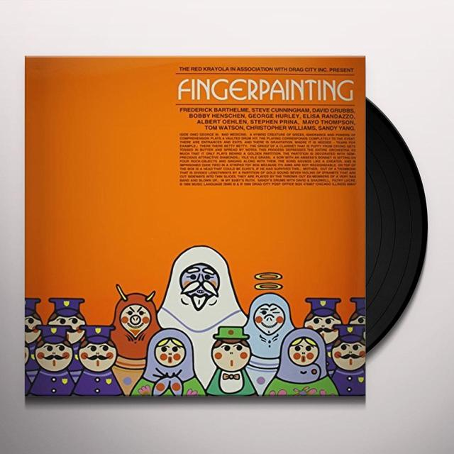 The Red Krayola FINGERPAINTING Vinyl Record