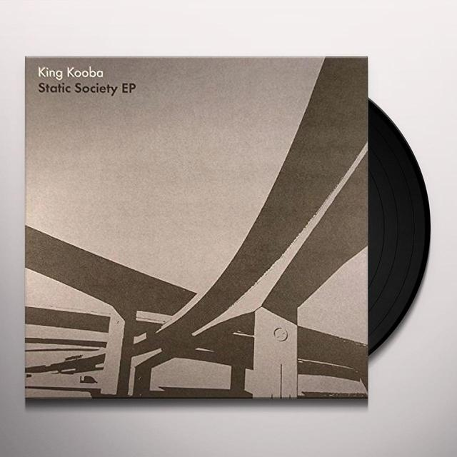 King Kooba STATIC SOCIETY Vinyl Record - UK Import