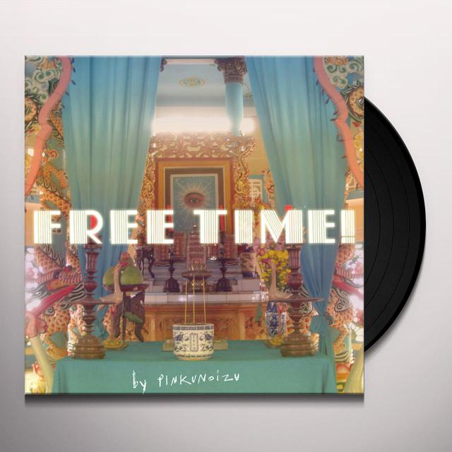 Pinkunoizu FREE TIME Vinyl Record
