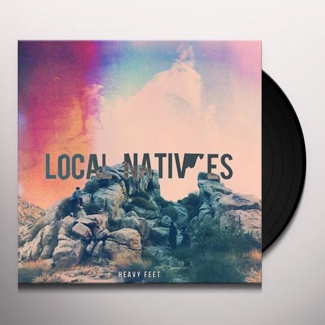 Local Natives HEAVY FEET Vinyl Record