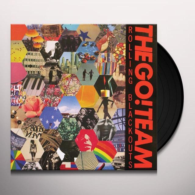 The Go! Team  ROLLING BLACKOUTS Vinyl Record