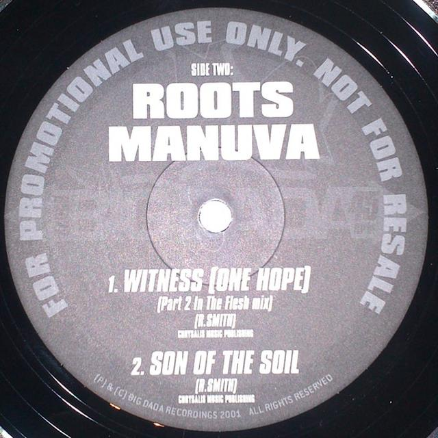 Roots Manuva WITNESS (ONE HOPE) Vinyl Record
