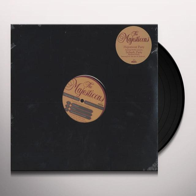 The Majesticons SUBURB PARTY Vinyl Record