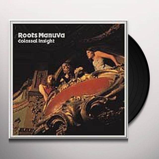 Roots Manuva COLOSSAL INSIGHT Vinyl Record