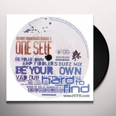 Dj Vadim Presents One Self BE YOUR OWN INC AMP FIDDLER REMIX Vinyl Record