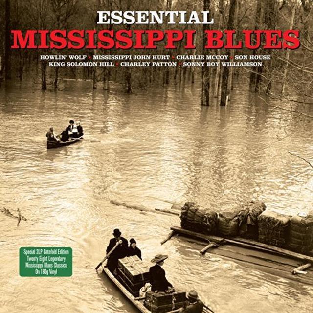 ESSENTIAL MISSISSIPPI BLUES / VARIOUS Vinyl Record - 180 Gram Pressing