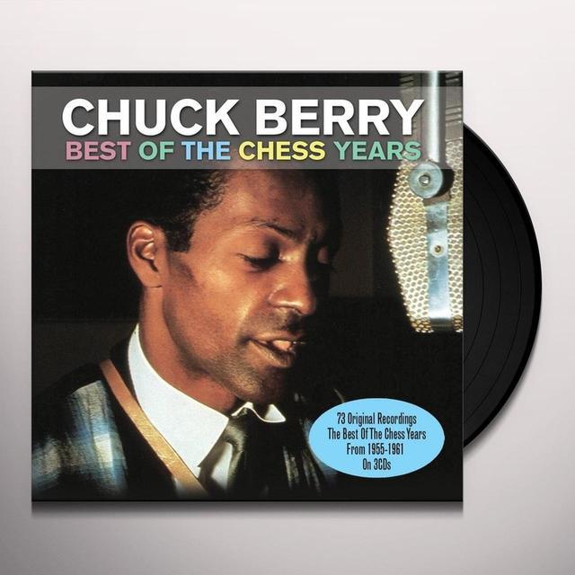 Chuck Berry BEST OF THE CHESS Vinyl Record - 180 Gram Pressing