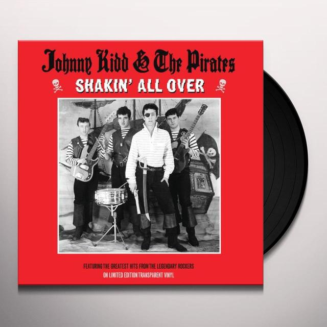Johnny Kidd SHAKIN ALL OVER YOU Vinyl Record
