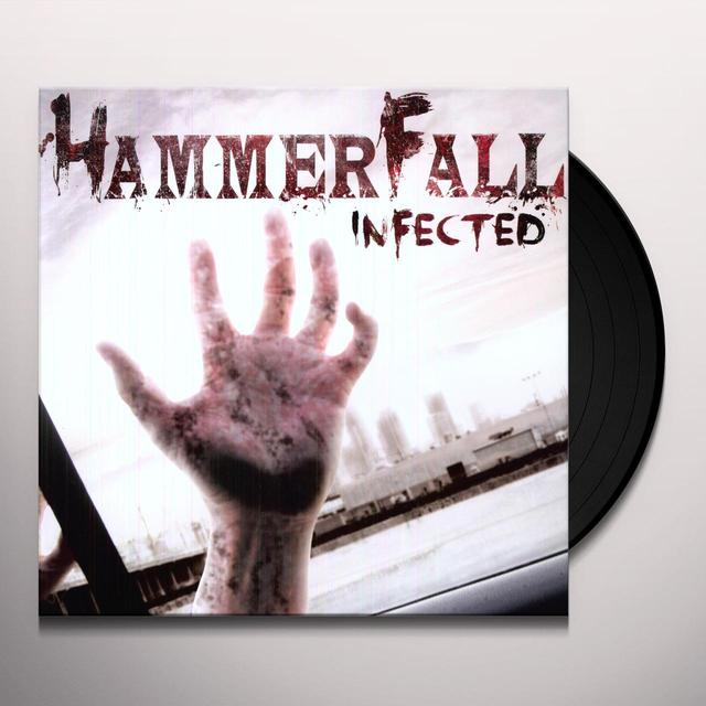 Hammerfall INFECTED Vinyl Record - Holland Import