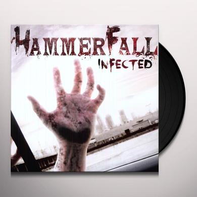 Hammerfall INFECTED Vinyl Record - Holland Release