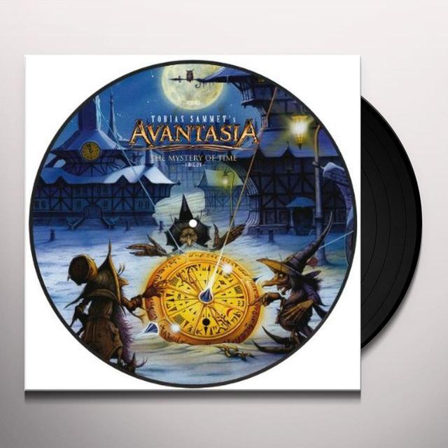 Avantasia MYSTERY OF TIME Vinyl Record - Holland Import