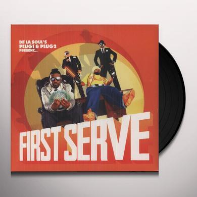 DE LA SOUL'S PLUG 1 & PLUG 2 PRESENT FIRST SERVE Vinyl Record