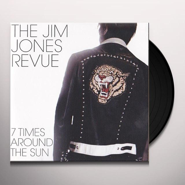 The Jim Jones Revue 7 TIMES AROUND THE SUN Vinyl Record