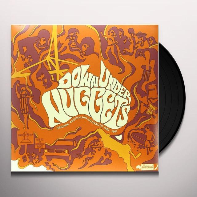 DOWN UNDER NUGGETS: ORIGINAL AUSTRALIAN ARTYFACTS Vinyl Record