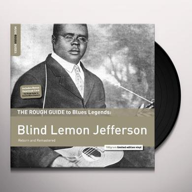 ROUGH GUIDE TO BLIND LEMON JEFFERSON Vinyl Record - 180 Gram Pressing, Remastered