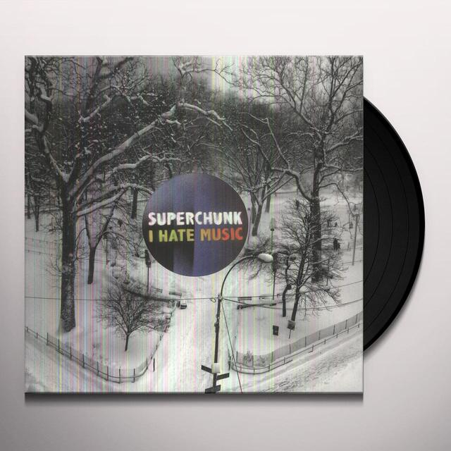 Superchunk I HATE MUSIC Vinyl Record - Digital Download Included