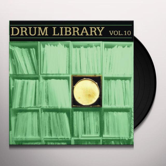 Paul Nice DRUM LIBRARY 10 Vinyl Record