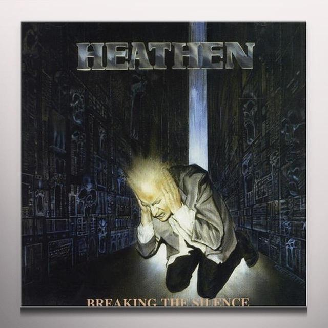 Heathen BREAKING THE SILENCE Vinyl Record - Colored Vinyl, Limited Edition, 180 Gram Pressing