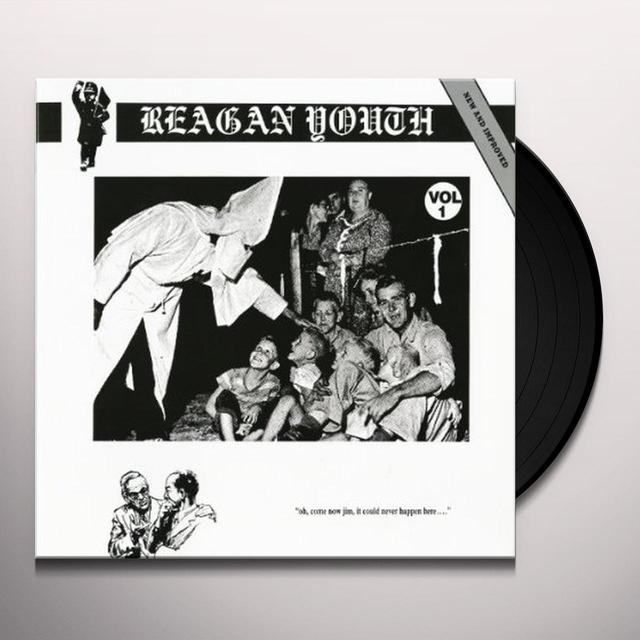 Reagan Youth VOLUME 1 Vinyl Record