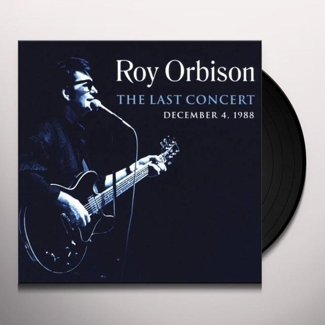 Roy Orbison LAST CONCERT Vinyl Record - Limited Edition, 180 Gram Pressing