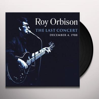 Roy Orbison LAST CONCERT Vinyl Record - Limited Edition, 180 Gram Pressing