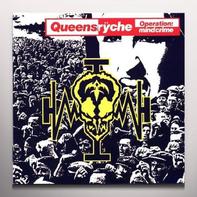 Queensrÿche OPERATION MINDCRIME Vinyl Record - Colored Vinyl, Limited Edition, 180 Gram Pressing