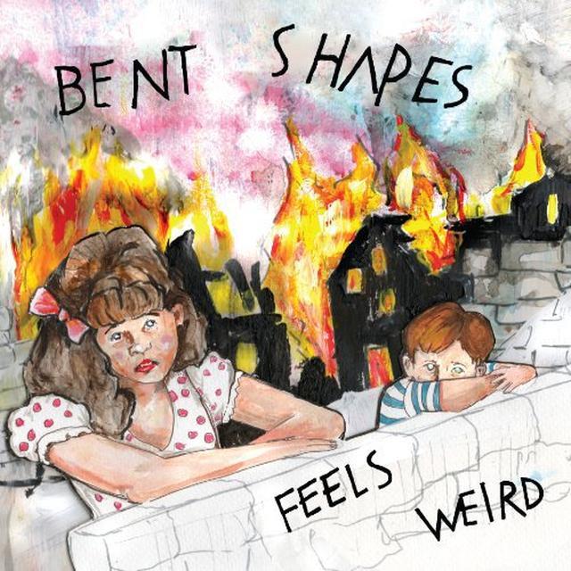 Bent Shapes FEELS WEIRD Vinyl Record - Colored Vinyl