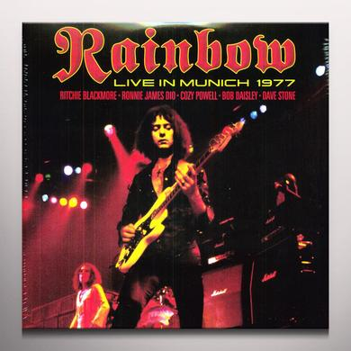 Rainbow LIVE IN MUNICH Vinyl Record - Colored Vinyl, Limited Edition, 180 Gram Pressing