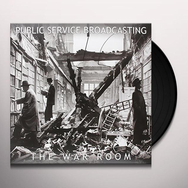 Public Service Broadcasting WAR ROOM Vinyl Record