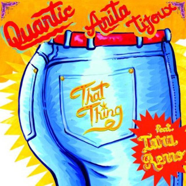 Anita Quantic / Tijoux DOO WOP Vinyl Record
