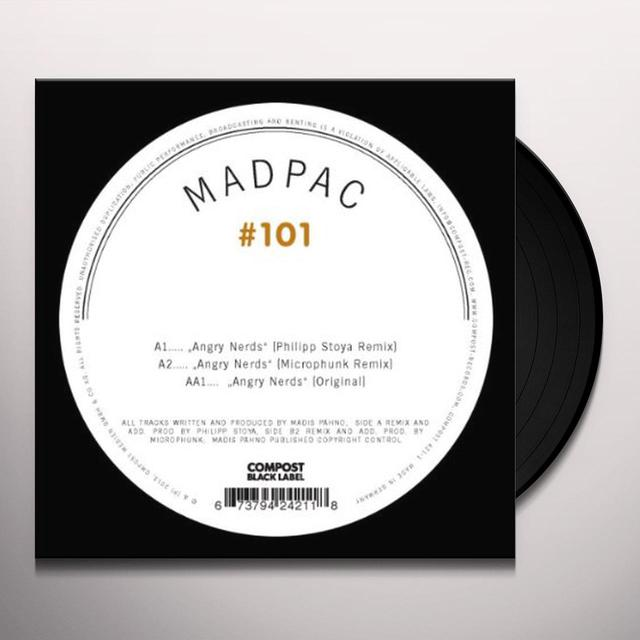 Madpac COMPOST BLACK LABEL 101 Vinyl Record