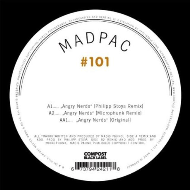 Madpac COMPOST BLACK LABEL 101 (EP) Vinyl Record