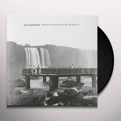 Springintgut WHERE WE NEED NO MAP: REMIXES Vinyl Record - Remixes