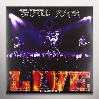 Twisted Sister LIVE AT HAMMERSMITH 84 Vinyl Record - Limited Edition, Colored Vinyl, 180 Gram Pressing