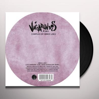 Cesar Merveille & Mirko Loko VAGABUNDOS 2013 PART 1 VINYL SAMPLER Vinyl Record