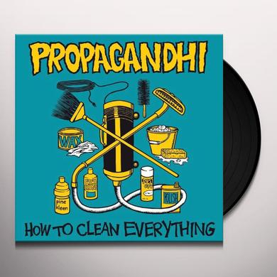 Propagandhi HOW TO CLEAN EVERYTHING Vinyl Record - Reissue
