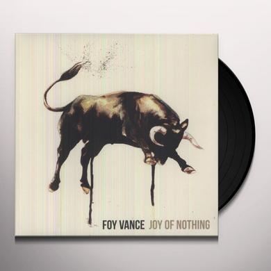 Foy Vance JOY OF NOTHING Vinyl Record