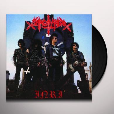 Sarcofago INRI Vinyl Record