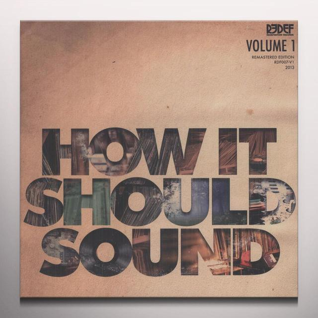Damu The Fudgemunk HOW IT SHOULD SOUND 1 (COLV) (Vinyl)