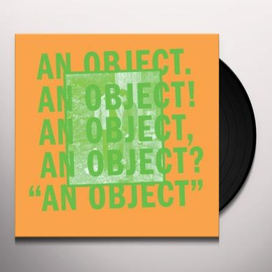 No Age AN OBJECT Vinyl Record - Digital Download Included