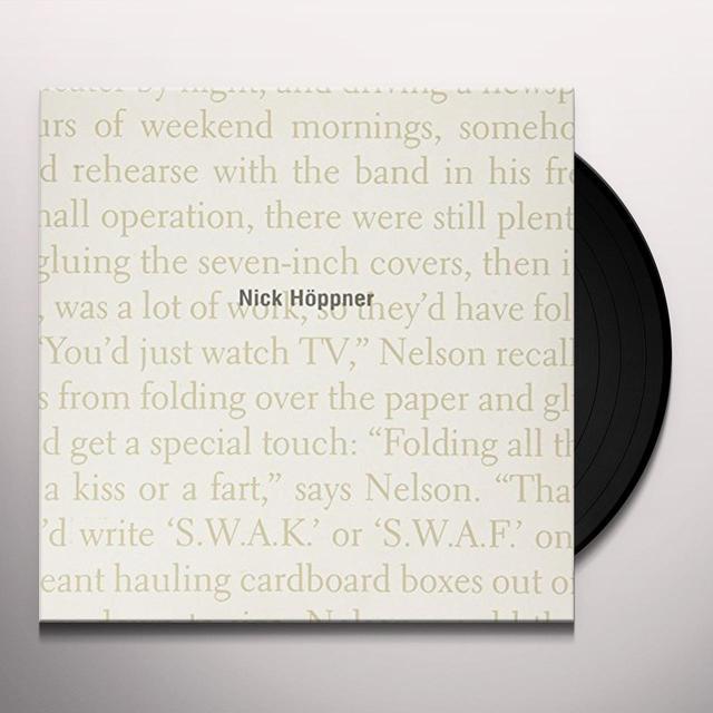 Nick Hoppner RED HOOK SOIL (EP) Vinyl Record