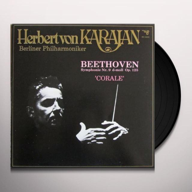 Beethoven / Bohm SINFONIA 9 IN RE MINORE OP 125 CORALE Vinyl Record