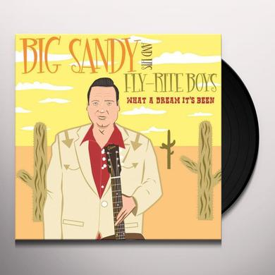 Big Sandy & His Fly-Right Boys WHAT A DREAM IT'S BEEN Vinyl Record