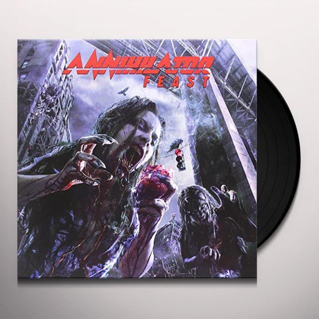 Annihilator FEAST Vinyl Record