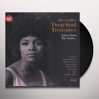 DAVE GODIN'S DEEP SOUL TREASURES / VARIOUS Vinyl Record - 180 Gram Pressing