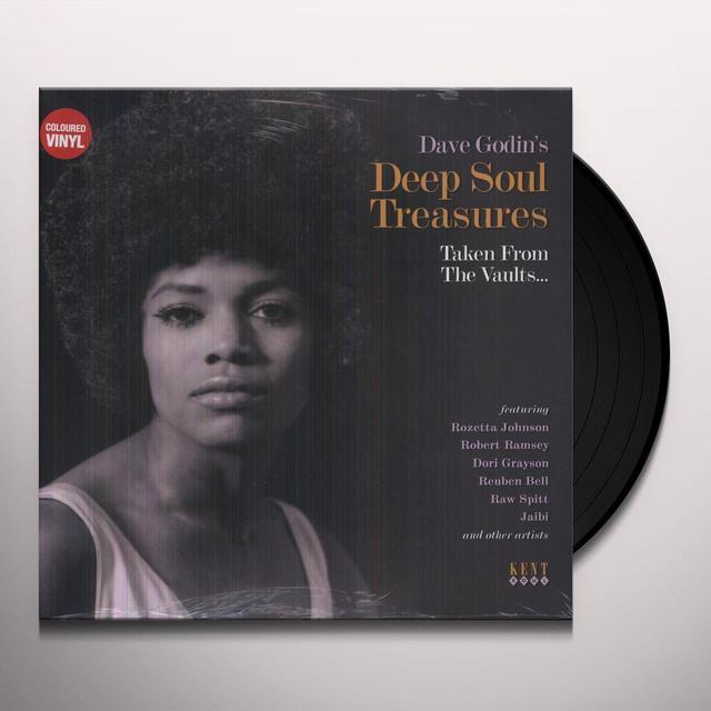 DAVE GODIN'S DEEP SOUL TREASURES / VARIOUS Vinyl Record - 180 Gram Pressing